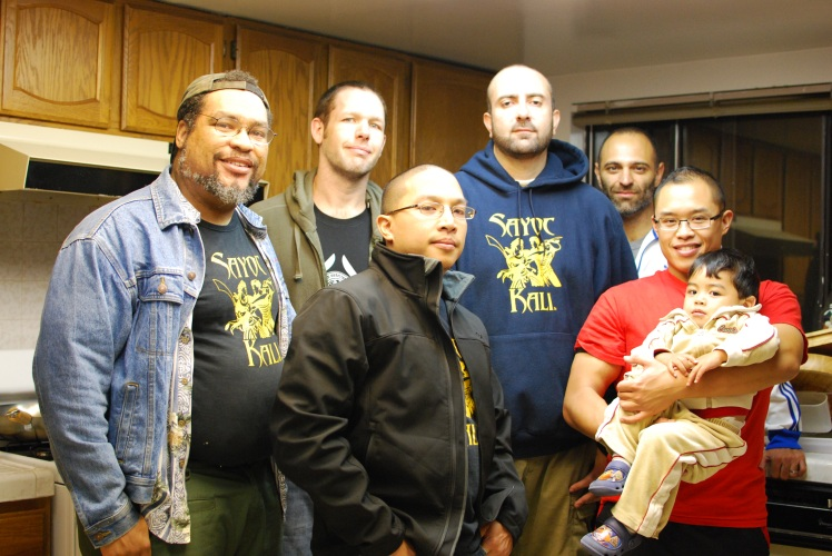 Tribal Tactics group photo with Guro Brian Calaustro, Los Angeles, 2012