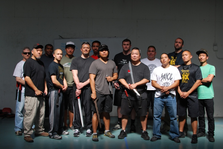 Tribal Weapons Seminar with Tuhon Rafael Kayanan, Sayoc Norcal group photo, San Francisco, 2011