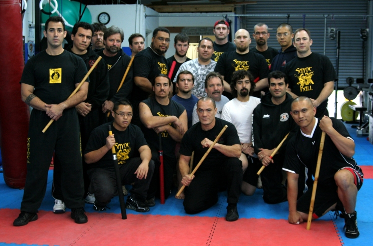 Tuhon Felix Cortes at Integrated Martial Arts in Long Beach, CA, 2005
