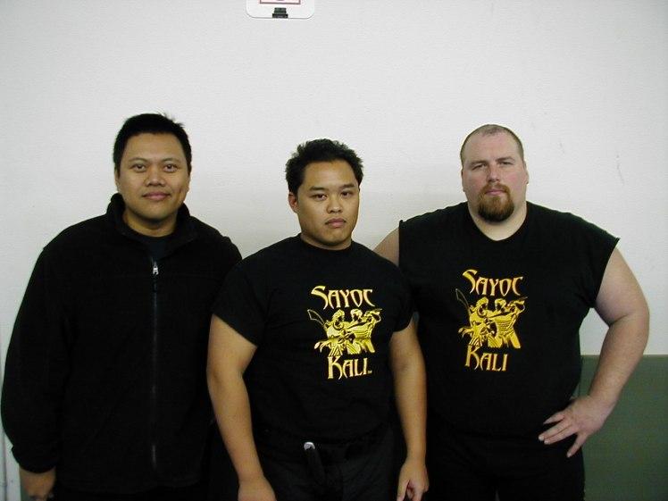 Tuhon Rafael Kayanan, Guro Joe & Tuhon Tom Kier, Los Angeles 2004