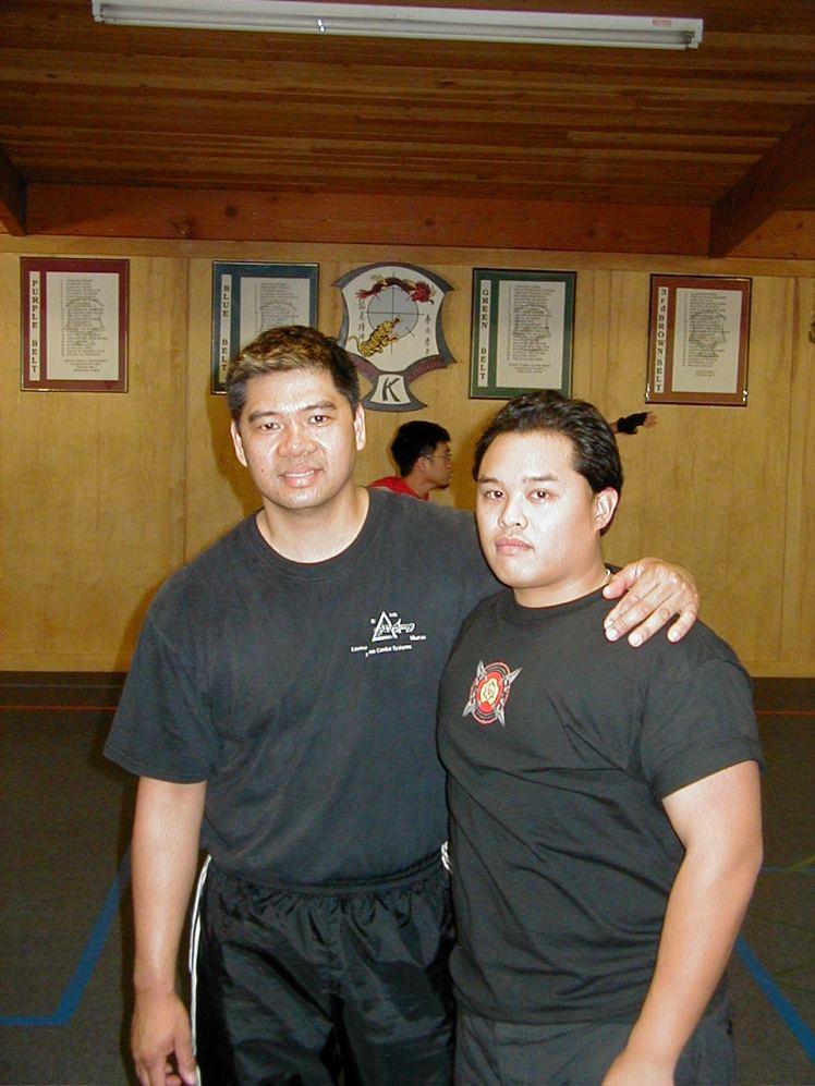 Tuhon Ray Dionaldo & Guro Joe, 2003