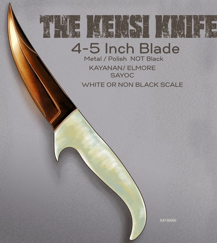 Kensi Knife designed by Tuhon Raf