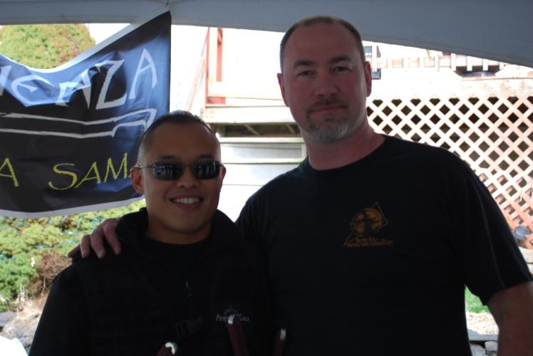 With Guro Harley Elmore of Warriors Way International