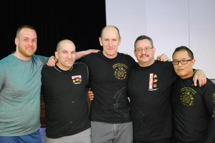 Adam, Guro George, Guro Joel, Guro Carlos and me.