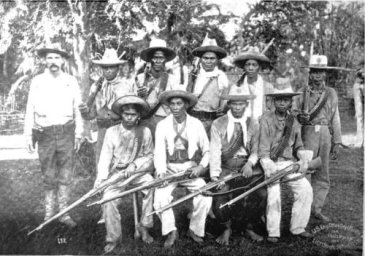 Macabebe Scouts arwd July 1899-June 1900